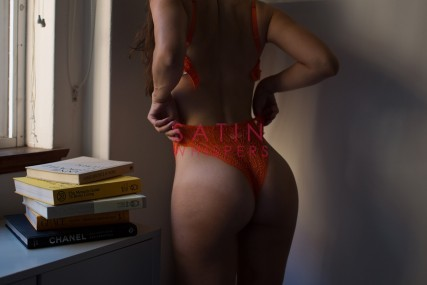 Arianna Rose-Bum-in-Red